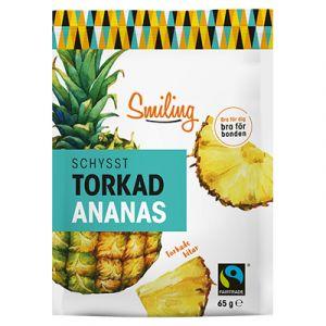 Smiling Torkad Ananas – fairtrade