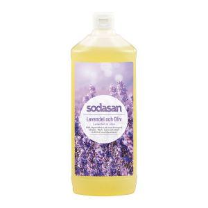Sodasan Tvål Lavendel & Oliv – flytande tvål