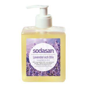 Tvål Lavendel & Oliv, 300 ml ekologisk
