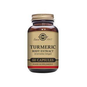 Solgar Turmeric Root Gurkmejaextrakt, 60 vegikapslar