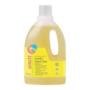 Tvättmedel Kulör Mint & Lemon , 1,5 l ekologisk