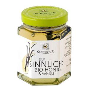 Sonnentor Honung Vanilj – Ekologisk smaksatt honung