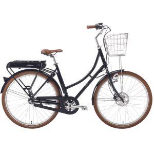 Stålhästen Prima Elcykel Dam Blanksvart – En snygg elcykel med kraftig motor