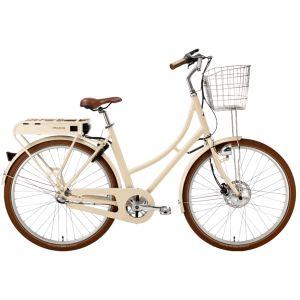 Stålhästen Prima Elcykel Dam Cream – En snygg elcykel med kraftig motor