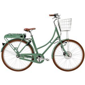 Stålhästen Prima Elcykel Dam Grön – En snygg elcykel med kraftig motor
