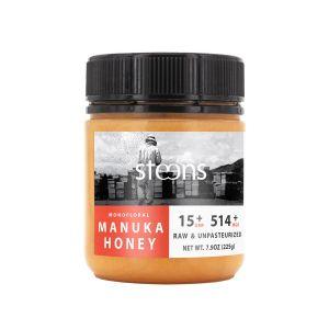 UMF™ 15+ (MGO 514+) Raw Manukahonung Monofloral, 225g