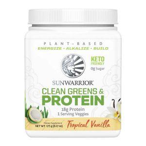 Clean Greens & Protein Vanilj, 175 g