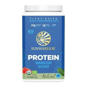 Sunwarrior Warriorblend Naturell – Ekologiskt & veganskt proteinpulver
