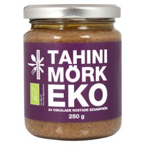 Tahini Mörk, 250g ekologisk