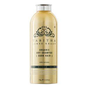 Organic Dry Shampoo Dark Hair, 75 g
