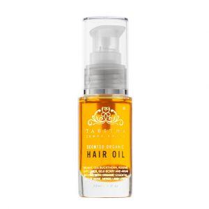 Scented Organic Hair Oil Amber Rose, 30 ml