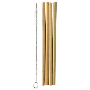 Humble Bamboo Straw, 4 st
