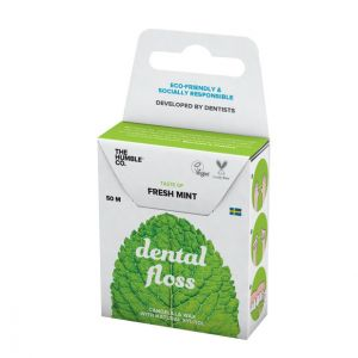 The Humble Co Dental Floss Fresh Mint – Tandtråd