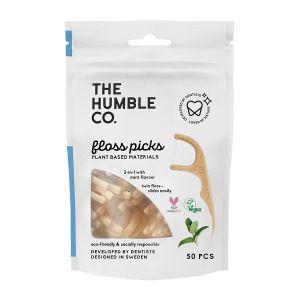 Köp The Humble Co Dental Floss Picks 50 p på happygreen.se