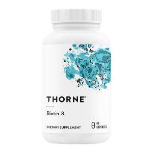 Thorne Research Biotin-8, 8000mcg – För hår, hud naglar