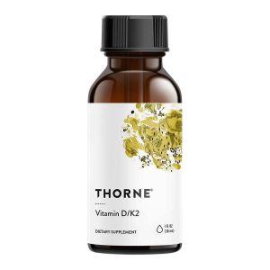 Thorne Research Vitamin D/K2 flytande – Solsken på flaska