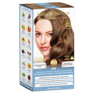 tints of nature 6N Dark Blond hårfärg, 130ml 60% ekologisk