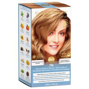 tints of nature 7N Medium Blonde hårfärg, 130ml 60% ekologisk