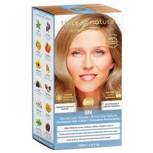 tints of nature 8N Light Blond hårfärg, 130ml 60% ekologisk