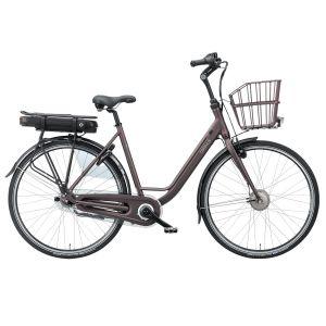 Batavus elcykel Torino E-GO Unisex (2019) Brun Matt 48cm