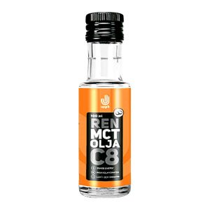Upgrit Ren C8 MCT-olja – från 100% kokosolja