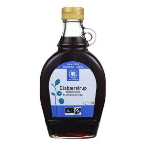 Blåbärssirap, 250 ml ekologisk