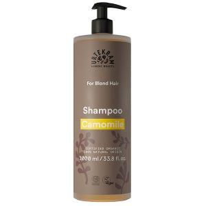 urtekram camomile shampoo ljust har 1l pump ekologisk