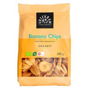 Chips Banan Spröda, 200g ekologisk