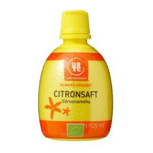 Citronsaft, 125 ml ekologisk