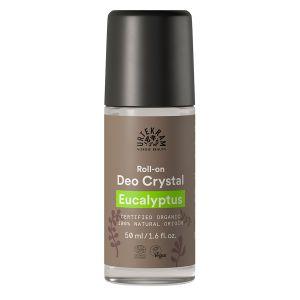 urtekram eucalyptus deo crystal 50ml roll on ekologisk