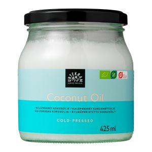 Kokosolja Extra Jungfru Kallpressad, 425ml ekologisk