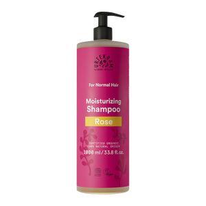 Urtekram Rose Shampoo Normalt Hår 1l pump ekologisk