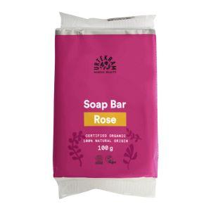 Köp Urtekram Rose Soap Bar 100g ekologisk på happygreen.se