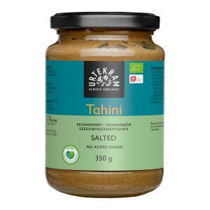 urtekram tahini med salt 350g ekologisk