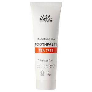 urtekram tea tree toothpaste 75ml ekologisk