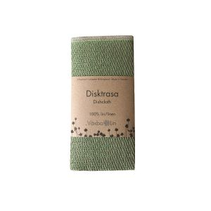 Växbo Lin Disktrasa Lin Bladgrön – absorberar effektivt