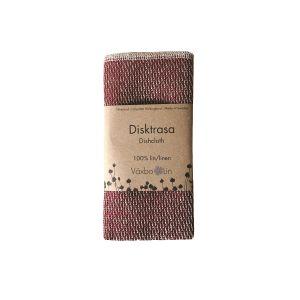 Växbo Lin Disktrasa Lin Bordeaux – absorberar effektivt