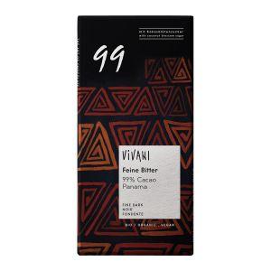 Choklad Mörk 99%, 80 g ekologisk