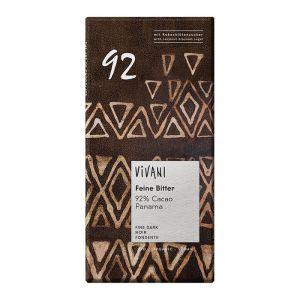 Mörk Choklad 92%, 80g ekologisk