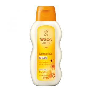Calendula Baby Oil, 200 ml ekologisk