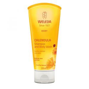 Weleda Calendula Shampoo & Body Wash, 200 ml