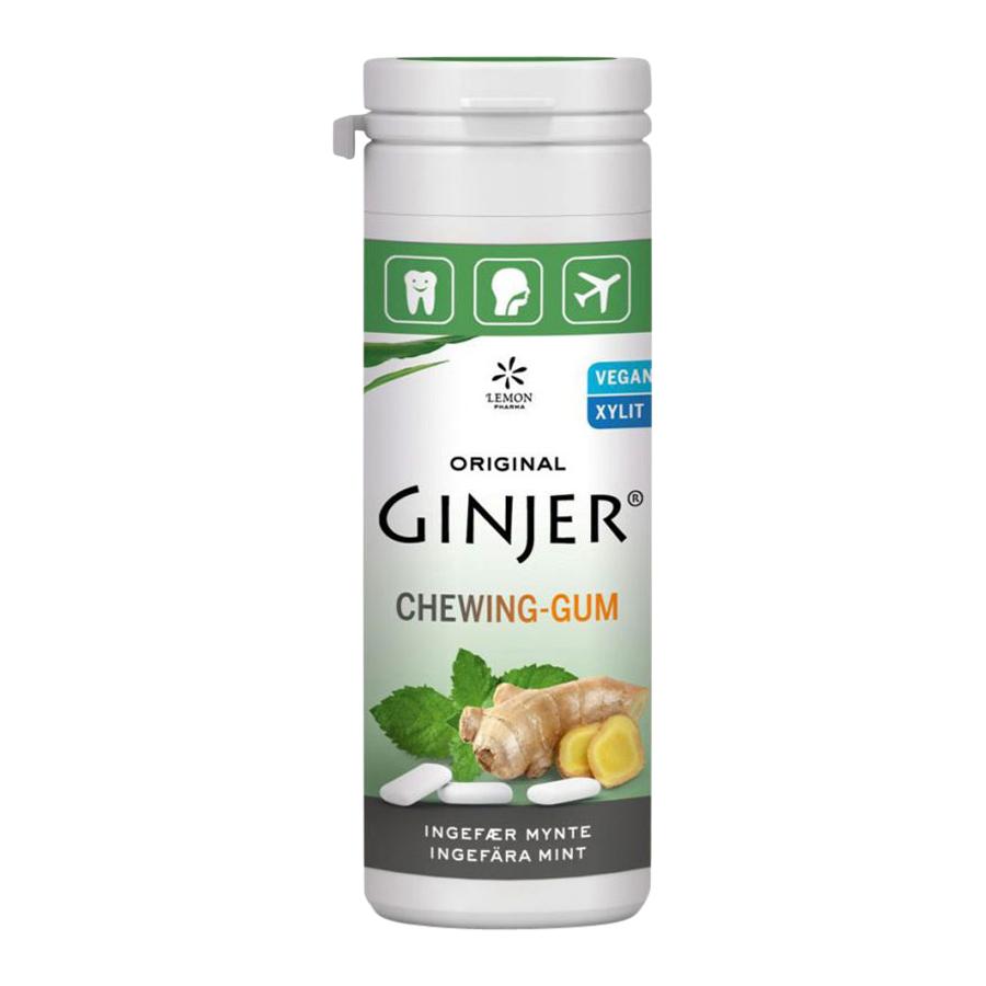 Ginjer Ingefära Mint Tuggummi, 30 g