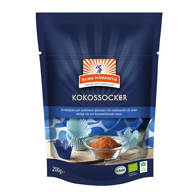 Kung Markatta Kokossocker, 200 g ekologisk