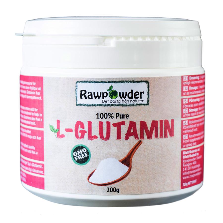 Rawpowder L-Glutamin pure, 200g