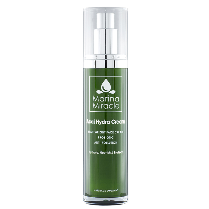 Marina Miracle Acai Hydra Cream, 50 ml ekologisk