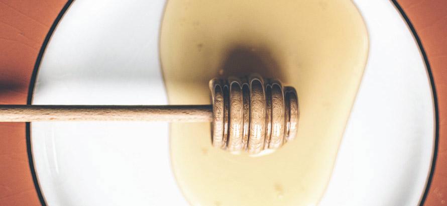 Bild på honung