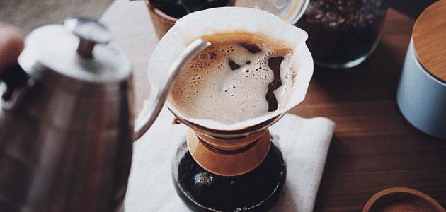 Bild på en chemex-kaffekanna.