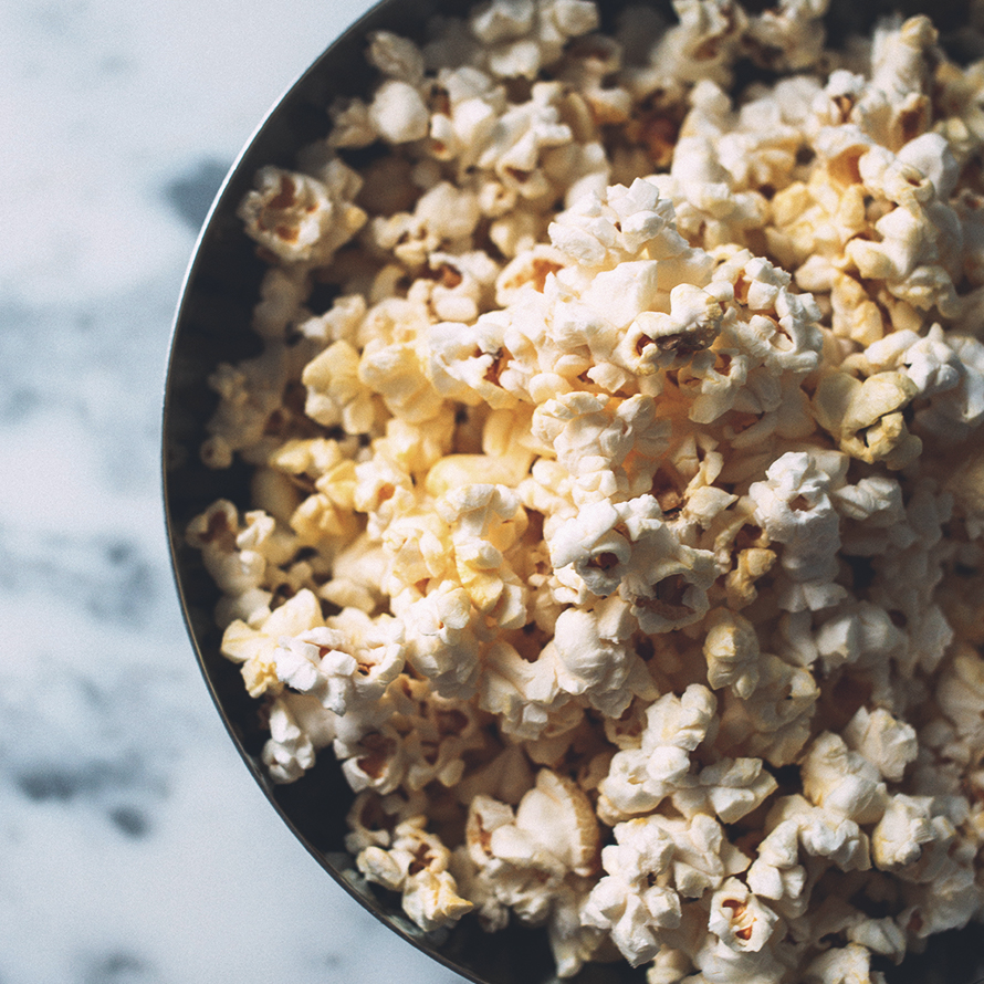 Popcornkärnor